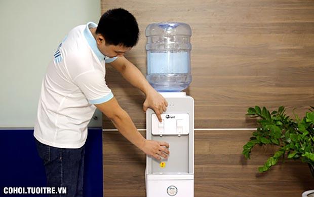 Cây nước nóng lạnh 2 vòi FujiE WD1850E