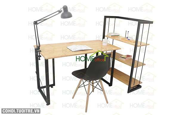 Bộ bàn học chân sắt thông minh của Home Office