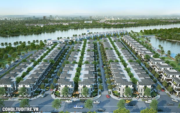 Không gian sống thanh bình ở Nam Sài Gòn được lòng người mua
