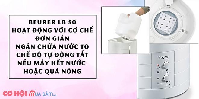Đánh giá máy tạo ẩm Beurer LB50