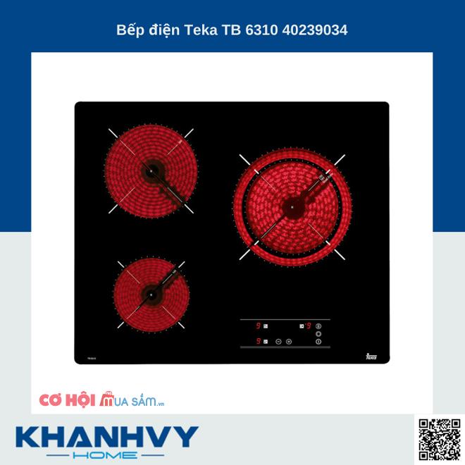 Top 6 bếp điện từ Teka đang ưu đãi tại Khánh Vy Home
