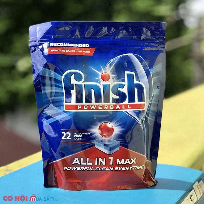Giảm giá viên rửa bát Finish Quantum Max 36 viên