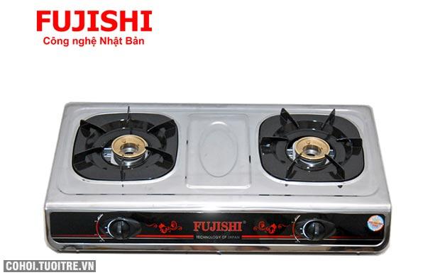 Bếp BIOGAS chén đồng khung inox Fujishi FJ-BG8