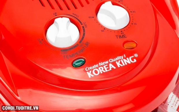 Lò nướng thủy tinh Korea King KOV702R