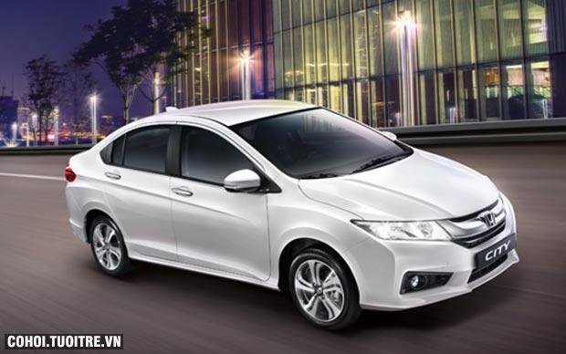 Honda City sở hữu mức giá trong mơ từ 01/07/2016