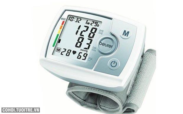 Máy đo huyết áp điện tử cổ tay Beurer BC31