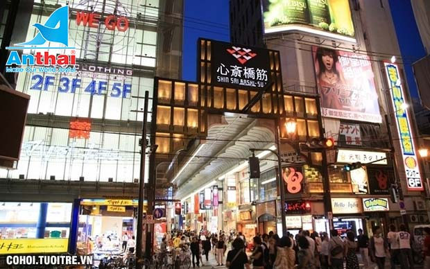 Khám phá Nagoya - Osaka 5N4Đ