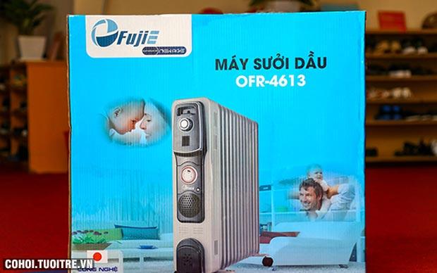Máy sưởi dầu Nhật Bản 13 thanh nhiệt FujiE OFR4613
