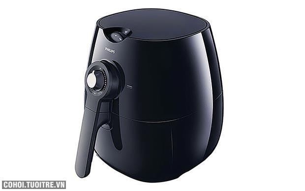 Nồi chiên không khí Philips HD9220/20 màu đen