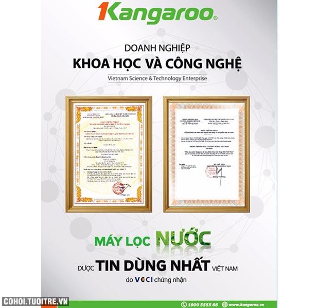 Máy lọc nước RO bán công nghiệp KANGAROO KG-200, 6 cấp lọc