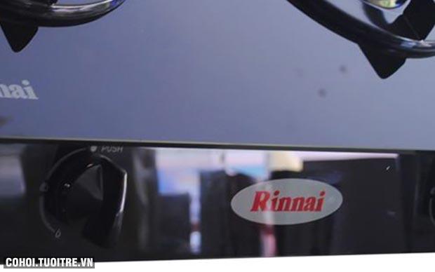 Bếp gas dương Rinnai RV-7Double Glass (B)