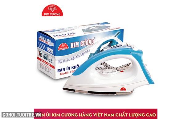Bàn ủi khô Kim Cương T-602 chính hãng giá rẻ
