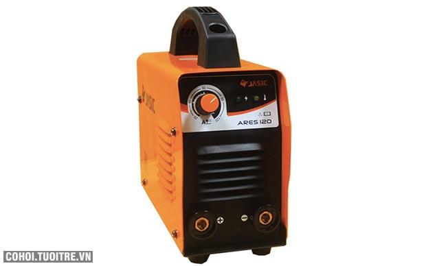 Máy hàn điện tử Jasic ARES-120, hàn que 2.5 ly, 120A
