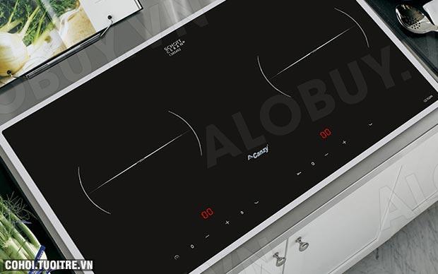 Bếp từ đôi cảm ứng 2 lò Canzy CZ-702IPA