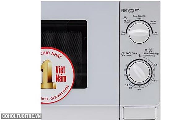 Xả kho lò vi sóng Sharp R-201VN-W giá từ 1.090.000đ