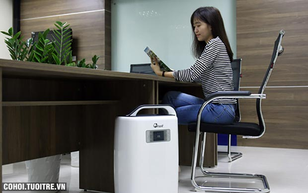 Máy hút ẩm phòng ngủ, văn phòng, gia đình FujiE HM-916EC