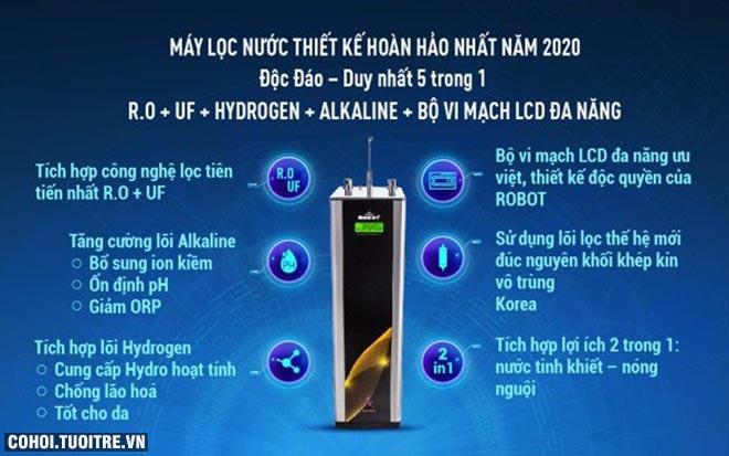 Máy lọc nước ROBOT áp dụng công nghệ cao, an toàn khi sử dụng