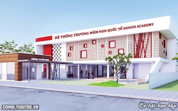 Ngày hội Hello School tại CS Saigon Academy Trần Quý Cáp