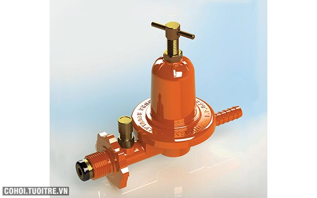 Van gas cao áp Namilux NA547SH, ngắt gas tự động