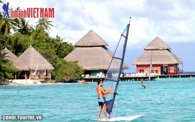 Khám phá thiên đường biển Maldives chỉ từ 19,9 triệu