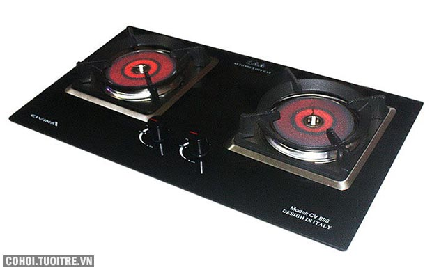 Bếp gas âm hồng ngoại Civina CV-898