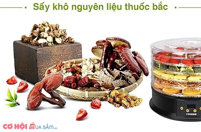Tiện lợi với máy sấy thực phẩm Tiross TS9682