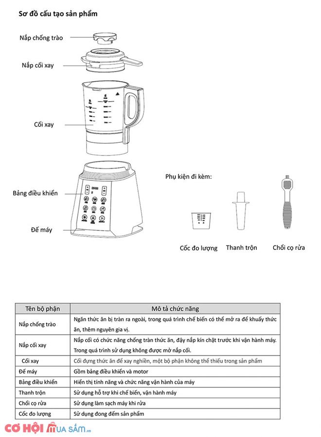 Máy xay sữa hạt Canzy CZ-107HD