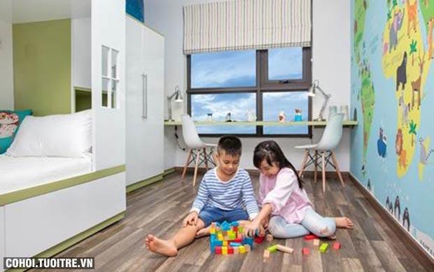 Hấp dẫn căn hộ dành cho nhiều thế hệ