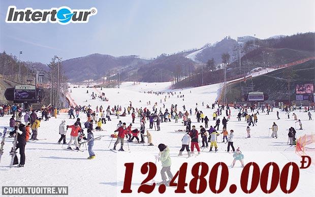 Đi Hàn Quốc mùa đông vui hết cỡ, rẻ bất ngờ