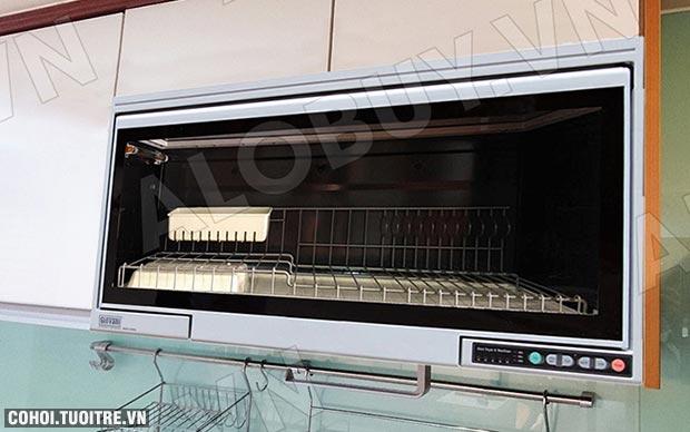 Máy Sấy Chén Tự Động Loại Treo Tủ Bếp Giovani G-802S