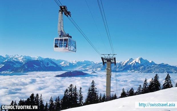 Du lịch Thụy Sĩ, Ý, Hy Lạp