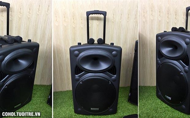 Loa vali kéo di động bluetooth karaoke Temeisheng DP-2305L