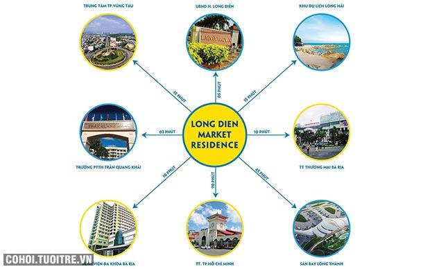 Phố chợ Long Điền - Hàng hiếm ra thị trường