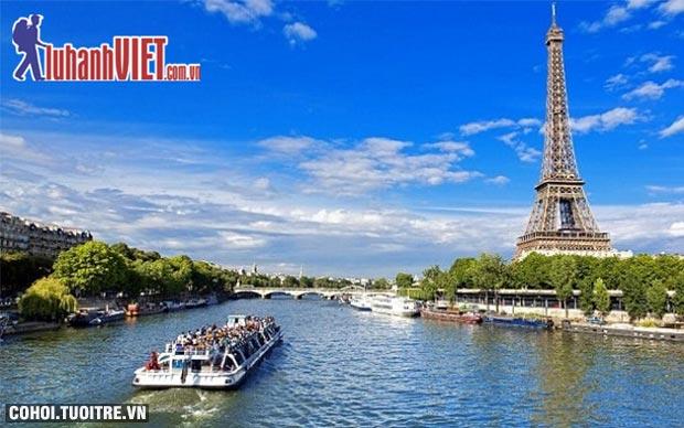 Tour Pháp - Thụy Sĩ - Ý ưu đãi 55,9 triệu