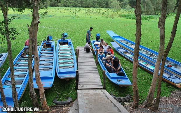Tour Bà Lụa, rừng tràm Trà Sư giá rẻ