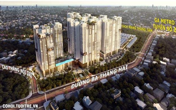 960 triệu có cơ hội sở hữu căn hộ trung tâm TPHCM