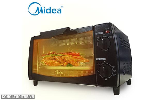 Lò nướng điện Midea MEO-10DW1 - dung tích 10L