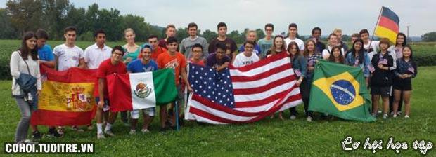 Chương trình giao lưu văn hóa Mỹ dành cho học sinh trung học
