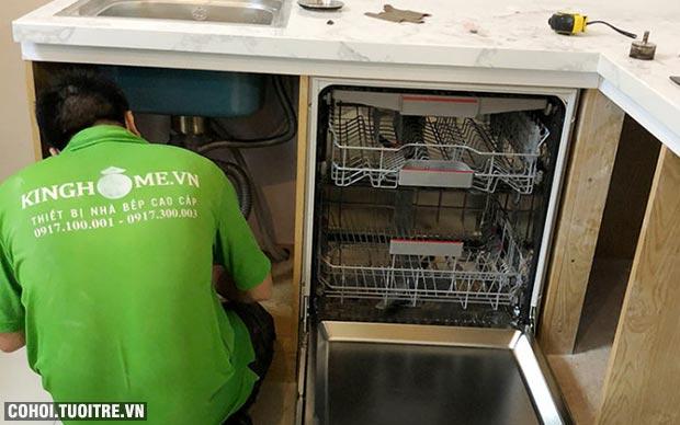Máy rửa bát độc lập Bosch SMS46MI05E nhập khẩu từ Đức