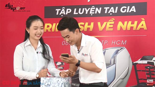 Công bố danh tính khách hàng trúng Honda SH 125i do Elipsport tổ chức