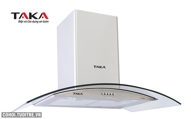 Máy hút mùi bếp 9 tấc kính cong Taka HT190E