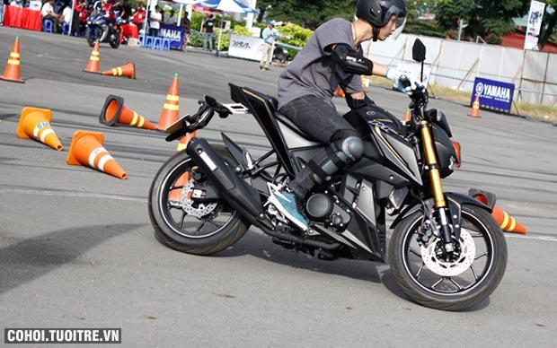 Trải nghiệm lái thử xe côn tay tại sự kiện Y-Motor Sport
