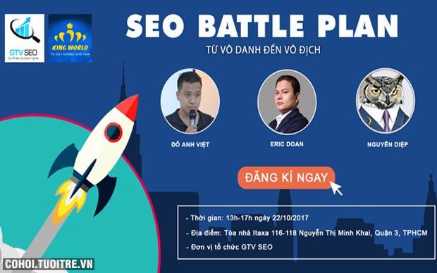 SEO Battle Plan - sự kiện không thể bỏ lỡ