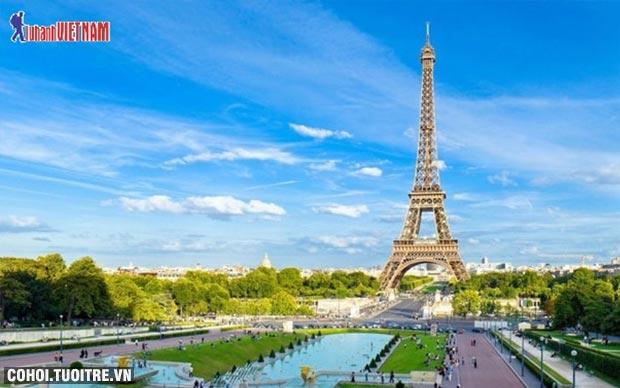 Du lịch 5 nước châu Âu giá từ 39,9 triệu đồng