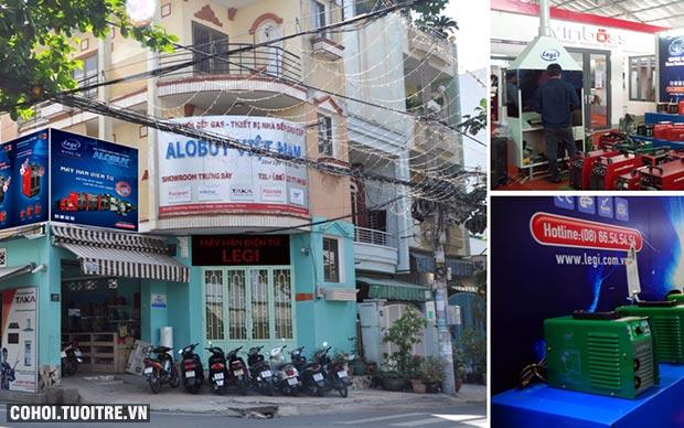 Máy hàn điện tử Hàn Quốc Legi, 3 ngày giảm giá