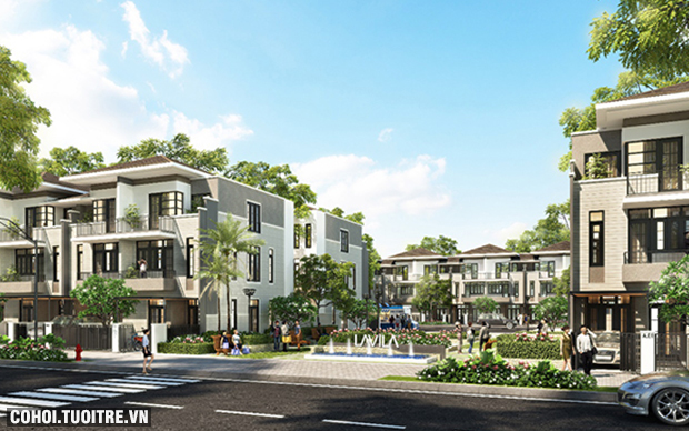 Sức hút của dự án biệt thự phố vườn LAVILA