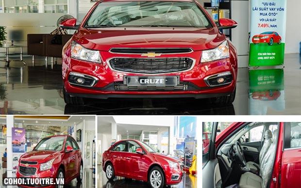 Chevrolet khuyến mãi lớn chỉ từ 300 triệu