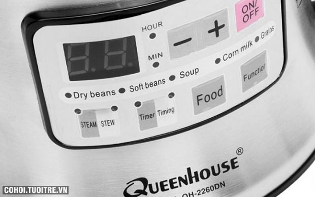 Máy làm sữa đậu nành Queenhouse QH 2260DN