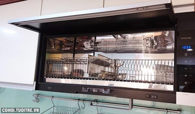 Máy sấy chén bát Sakura Q-7583XL chính hãng