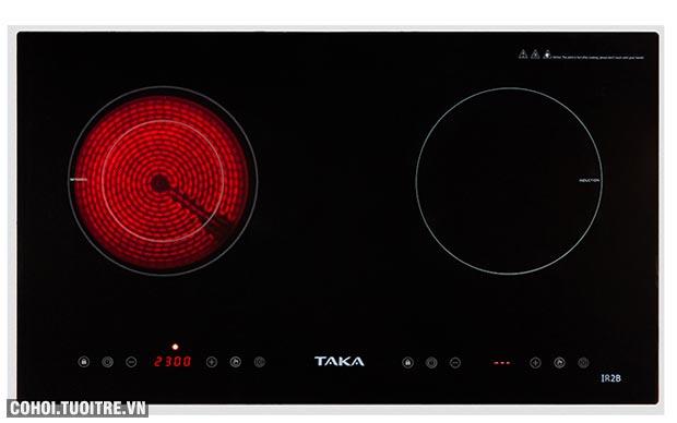 Bếp điện đôi hồng ngoại điện từ Taka được ưa chuộng
